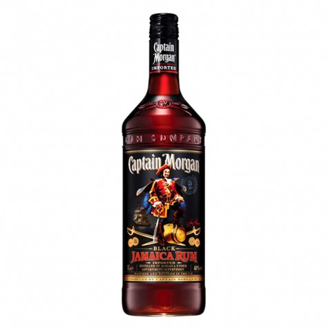 Captain Morgan Dark Rum 750ml