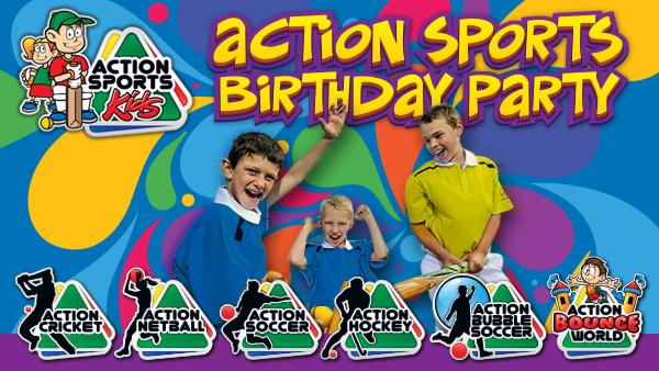 Action Sports Kids - Kids Birthday Parties Centurion